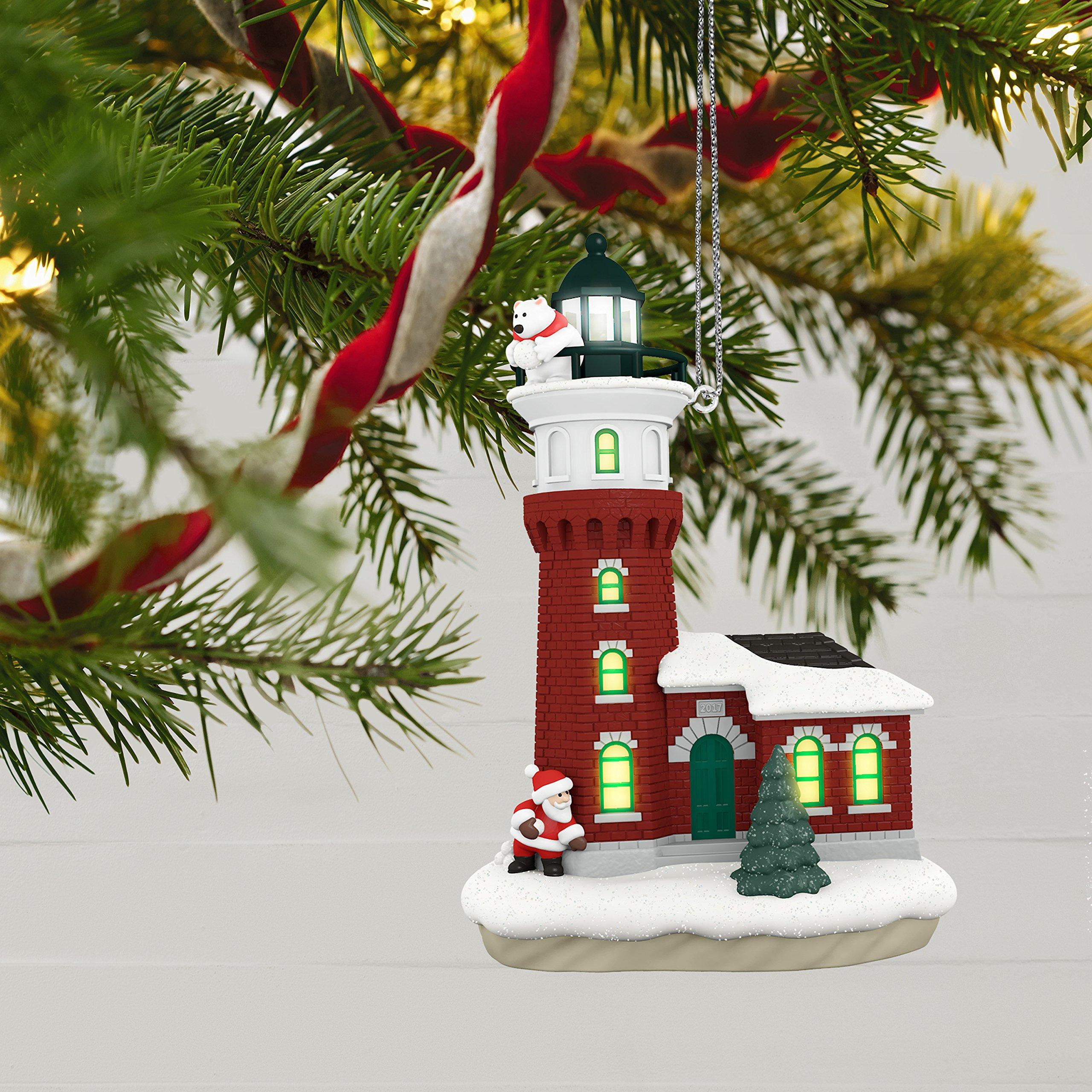 Hallmark Santa Lighthouse
