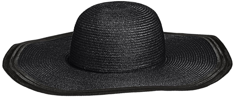 Amazon.co.jp: (スナイデル)snidel 編み柄つば広帽 SWGH152674 9 BLK F: 服&ファッション小物通販