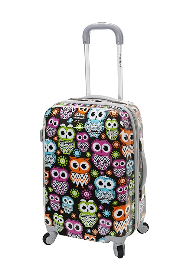 This is on my Wish List: Rockland 20 Inch Polycarbonate Carry On, Owl, One Size: Clothing