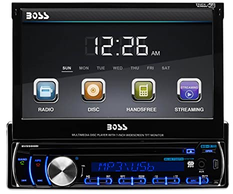 BOSS BV9986BI Autoradio CD/DVD Noir