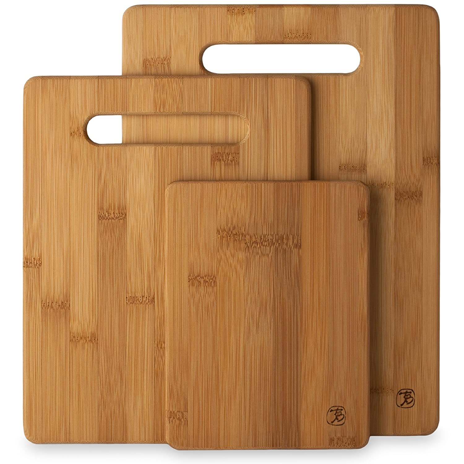 Totally Bamboo 20-7930 3-Piece Cutting Board Set $9.99