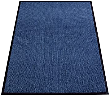 miltex tapis en en pp 120 x 180 cm couleur bleu cuisine n maison o2. Black Bedroom Furniture Sets. Home Design Ideas
