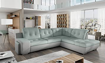 Sofa Couchgarnitur GALAXY A Polstergarnitur Couch Sofagarnitur Wohnlandschaft Schlaffunktion