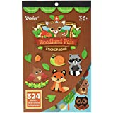 Darice 106-6555D 324 Piece Woodland Critters Theme Activity Sticker Book