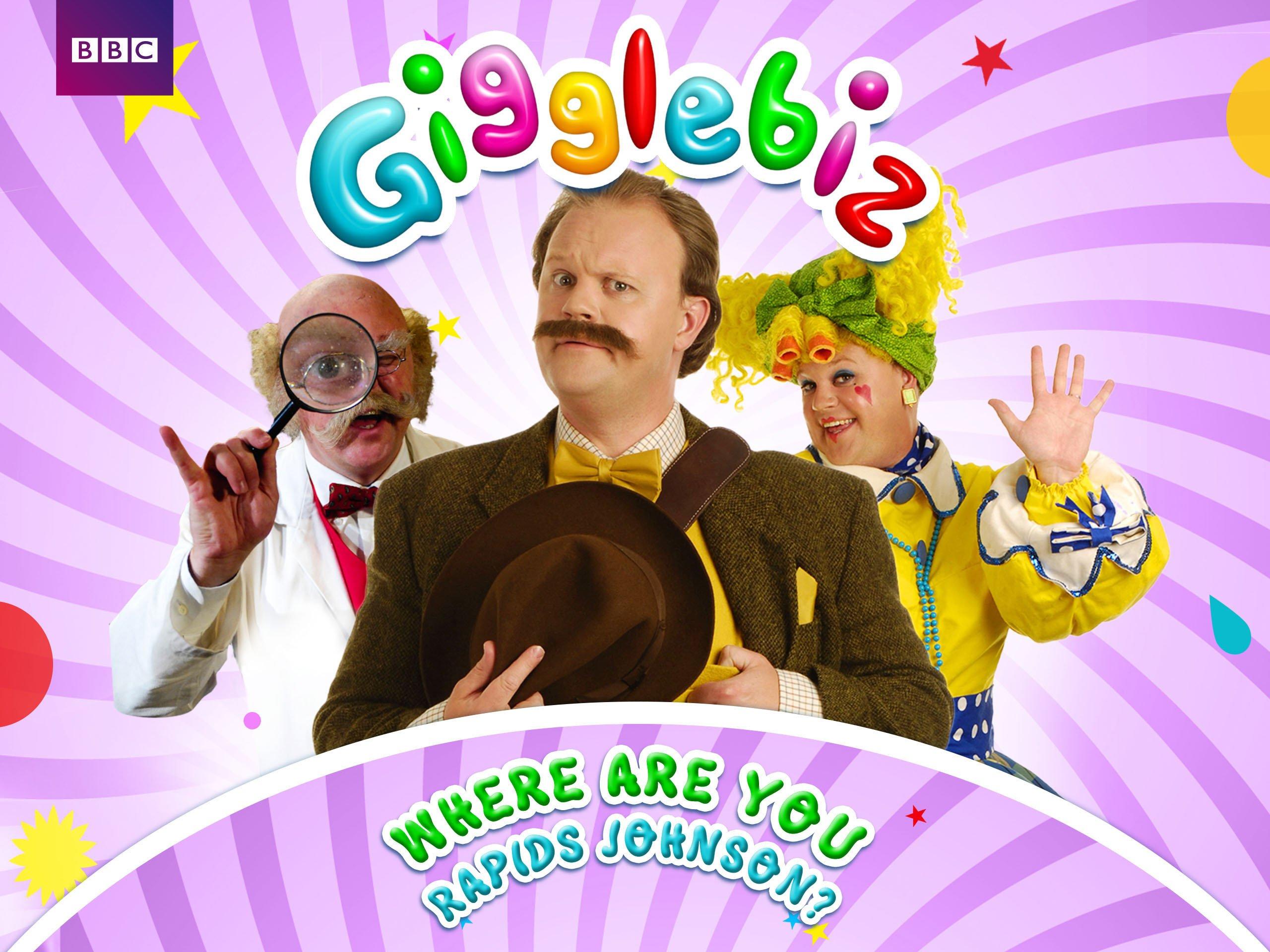 Gigglebiz: Where are you Rapids Johnson? - Season 2
