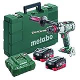 Metabo- 18V Brushless 3-Speed Hammer Drill/Driver Kit 2X 5.5Ah Lihd (602357620 18 LTX-3 BL Q I 5Hammer Drill/Driver