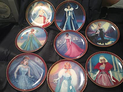 High Fashion Barbie Plates High Fashion Barbie