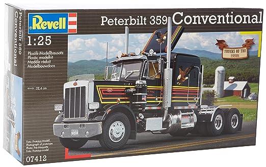 Revell - 07412 - Maquette - Peterbilt 359 - 318 Pièces