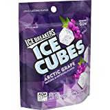 ICE BREAKERS Ice Cubes Sugar Free Gum, Arctic Grape, 100 Piece (Tamaño: 100 Piece)