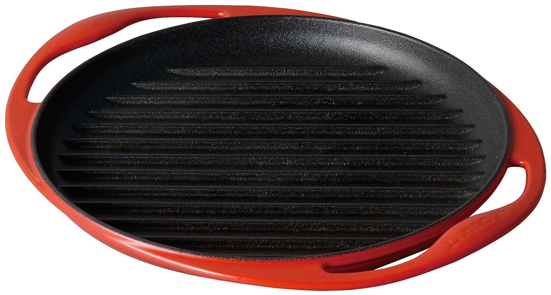 Le Creuset 20125000600460 Grillplatte rund 25 cm kirschrot online kaufen