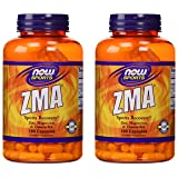 Now Sports ZMA Sports Recovery, 180 capsules, pack of 2 (Tamaño: 2 pack (180 count each))