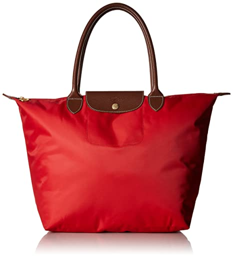 Longchamp Sac à bandoulière Grand Rouge
