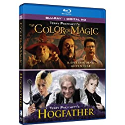 Terry Pratchett's The Color of Magic & Hogfather (Double Feature) [Blu-ray]