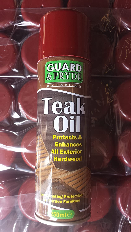 250 ml Teaköl außen für Hartholz/Weichholz Gartenmöbel Spraydose Schutz