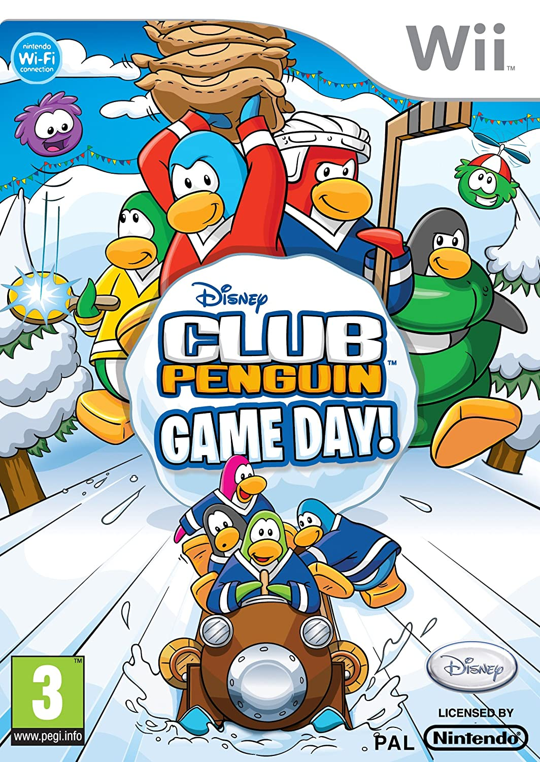 H Club Penguin Club Penguin Game Day  Wii
