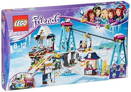 LEGO - 41324 - Friends - Jeu de Construction - La station de ski