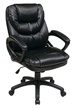 WorkSmart Faux Leather Manager's Chair