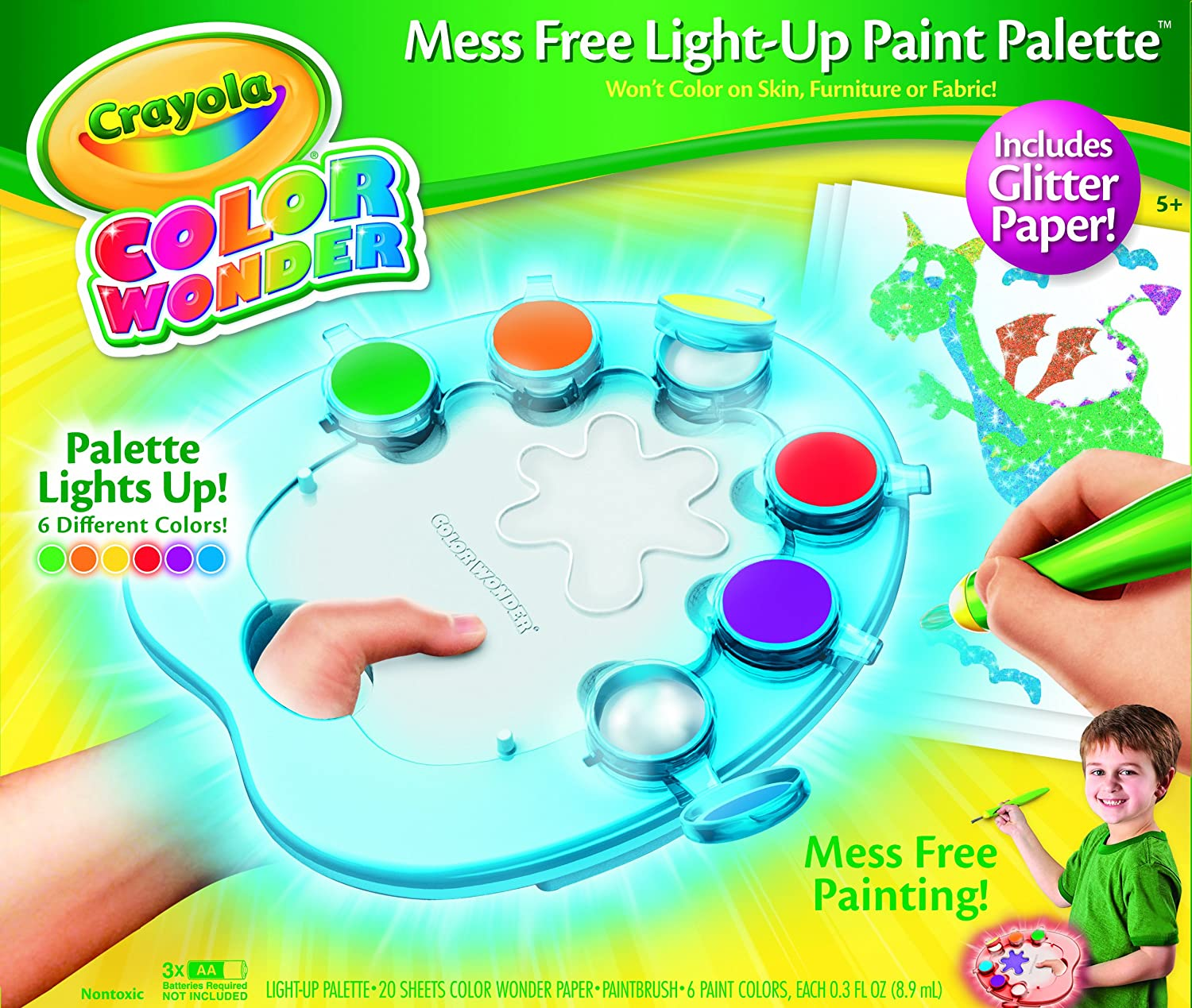 Crayola Color Wonder Light Up Palette