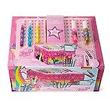 JoJo Siwa Arts & Crafts Treasure Box - 1LB Keepsake Box Packed with Rhinestones,Stationery, Stickers + More (Color: Original version, Tamaño: Standard)