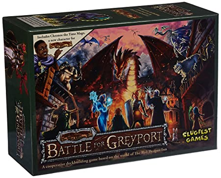 'Slug Lave-vaisselle Games sfg00023 – Jeu de cartes Red Dragon Inn : Battle pour Grey Port ""