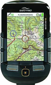 Satmap Système GPS Active 10 PLUS Avec cartes de la Haute-Autriche et de la Styrie Noir