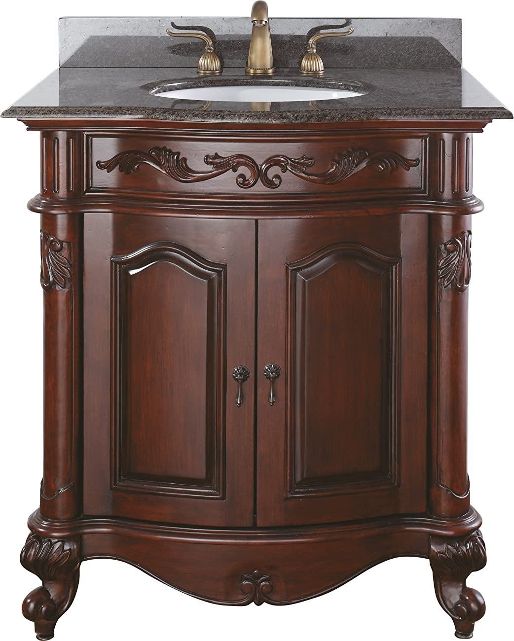 Avanity Provence 30 in. Vanity Only in Antique Cherry finish 0