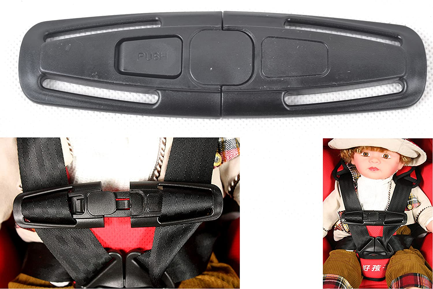 Car Seat Buckle Safety Car Baby Safety Seat Strap
