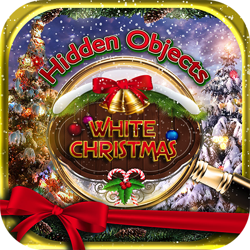 Hidden Objects White Christmas Winter Holiday - Object Time Puzzle Seek & Find Santa Game (Letter Quest compare prices)