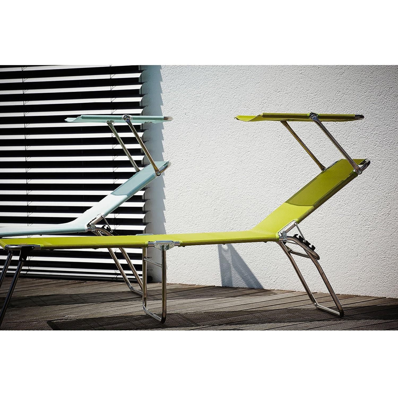 Amigo Fourty-Sun Dreibeinliege mit Sonnendach – pistazie günstig online kaufen