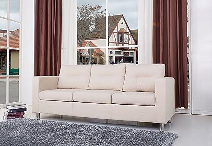 Gold Sparrow Detroit Sofa, Beige
