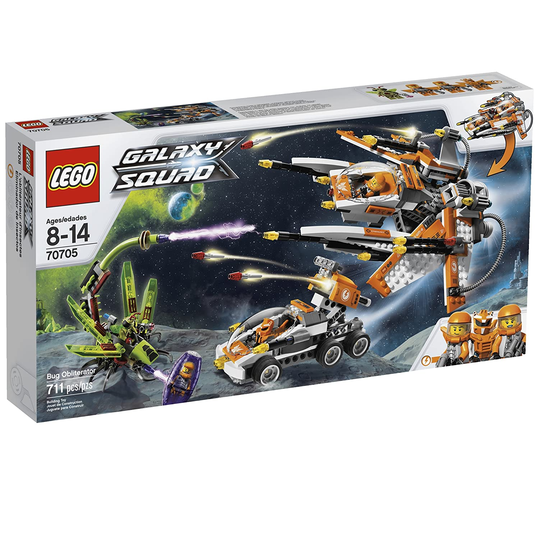 LEGO GALAXY SQUAD BUG OBLITERATOR 70705 als Geschenk