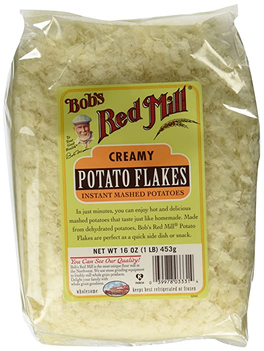 Bob's Red Mill Potato Flakes via Amazon