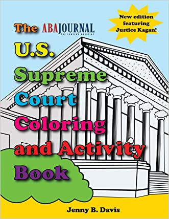 The U.S. Supreme Court Coloring Book written by Jenny B. Davis