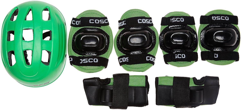 Cosco 4 In 1 Protective Kit, Junior (Green)