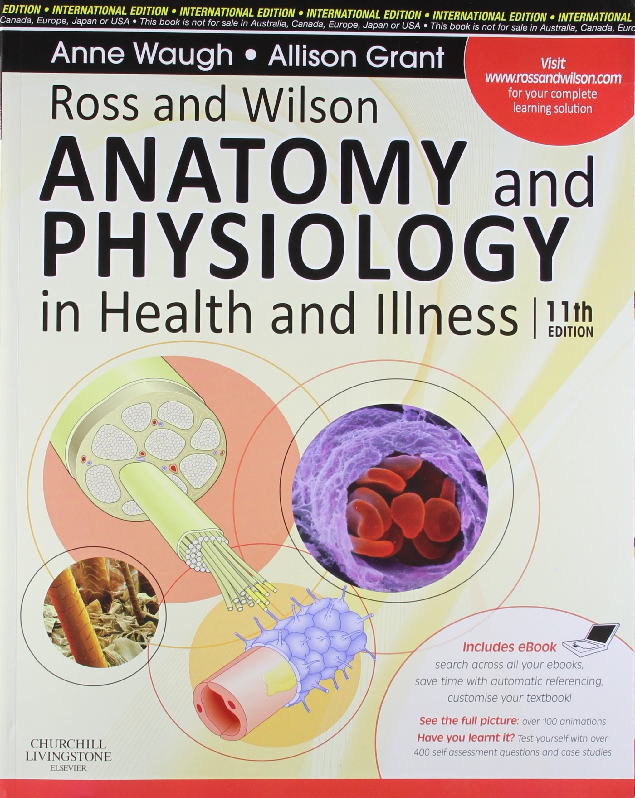 Buy Ross And Wilson Anatomy And Physiology In Health And Illness (old  Edition) Book Online At Low Prices In India  Ross And Wilson Anatomy And  Physiology