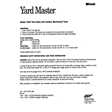 Yard Master 13547 6-Outlet Power Stake with Light Sensor and 6-Foot Cord