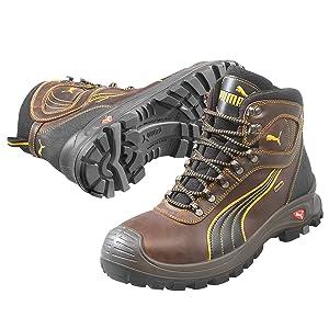 Puma Safety Sicherheitsschuhe S3 Scuff Caps Sierra Nevada Mid 63.022.0 Hochschuhe Halbstiefel  Schuhe & HandtaschenÜberprüfung und weitere Informationen