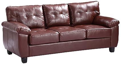 Glory Furniture G900A-S Sofa, Brown