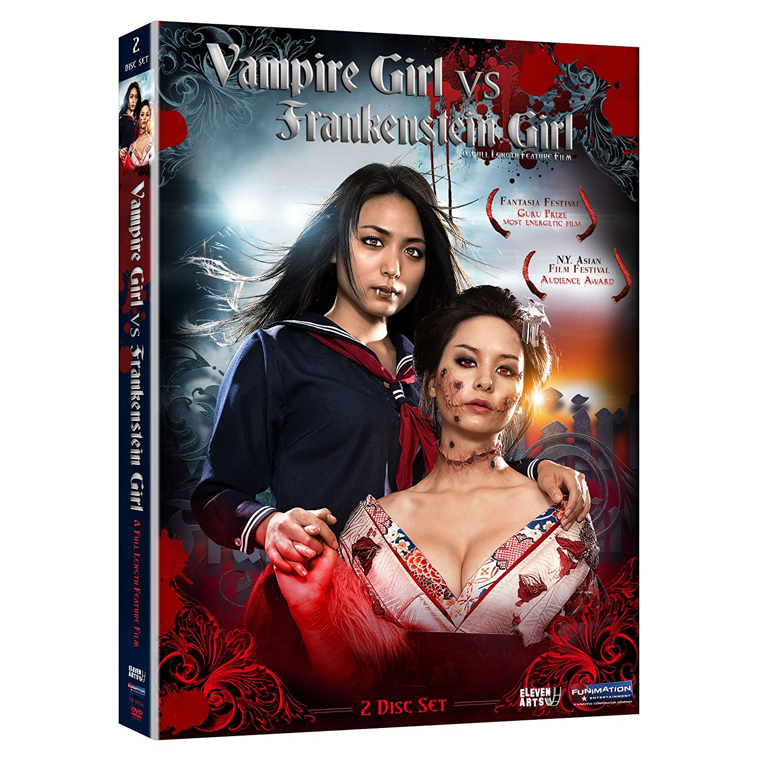 Vampire Girl vs.Frankenstein Girl DVD Cover