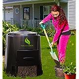 Enviro World 82 Gallon Compost Bin (Color: black)