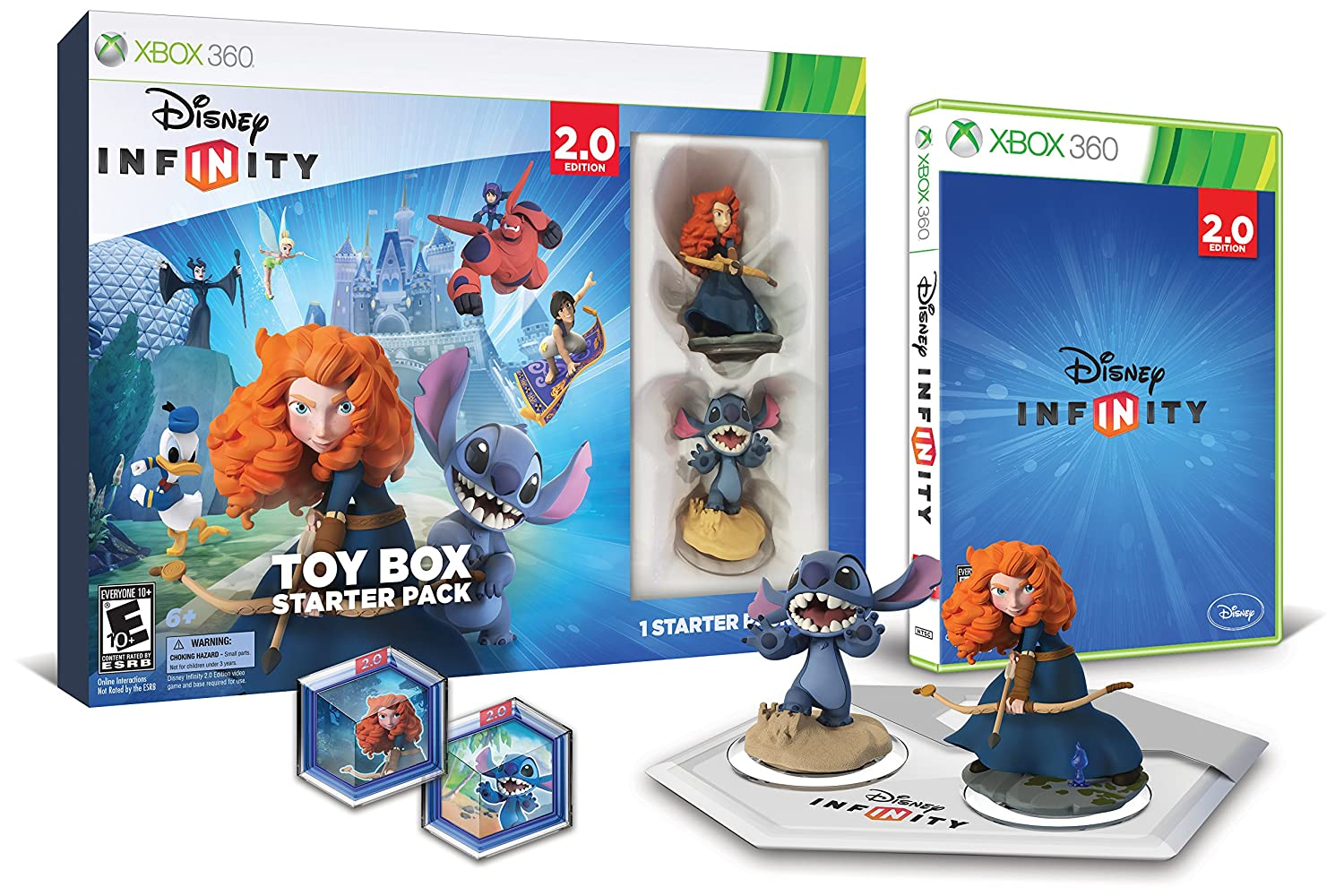 Disney Infinity Toy Box Starter Pack 2.0 Edition