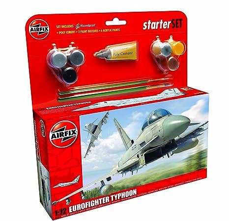 Airfix - Ai50098 - Eurofighter Typhoon - Kit De Démarrage - 65 Pièces - Échelle 1/72