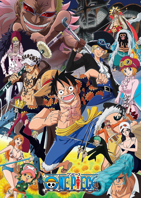 少年漫画『ワンピース』最強キャラクターは誰だ!
