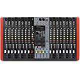 NOVIK NEO Mixer NVK-16M USB 16 CHANNEL MIXER, MP3 player, Compatible with USB and SD memories, DSP with 99 internal effects, 3 Stereo channels, Graphic Equalizer (Color: Black, Tamaño: NVK-16M)