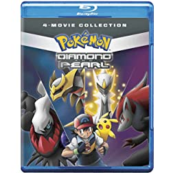 Pokemon D&P Movie Collection (BD) [Blu-ray]