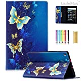 LittleMax Magnetic Closure Flip Soft Gel Protective Case with Card Slot for HD 8