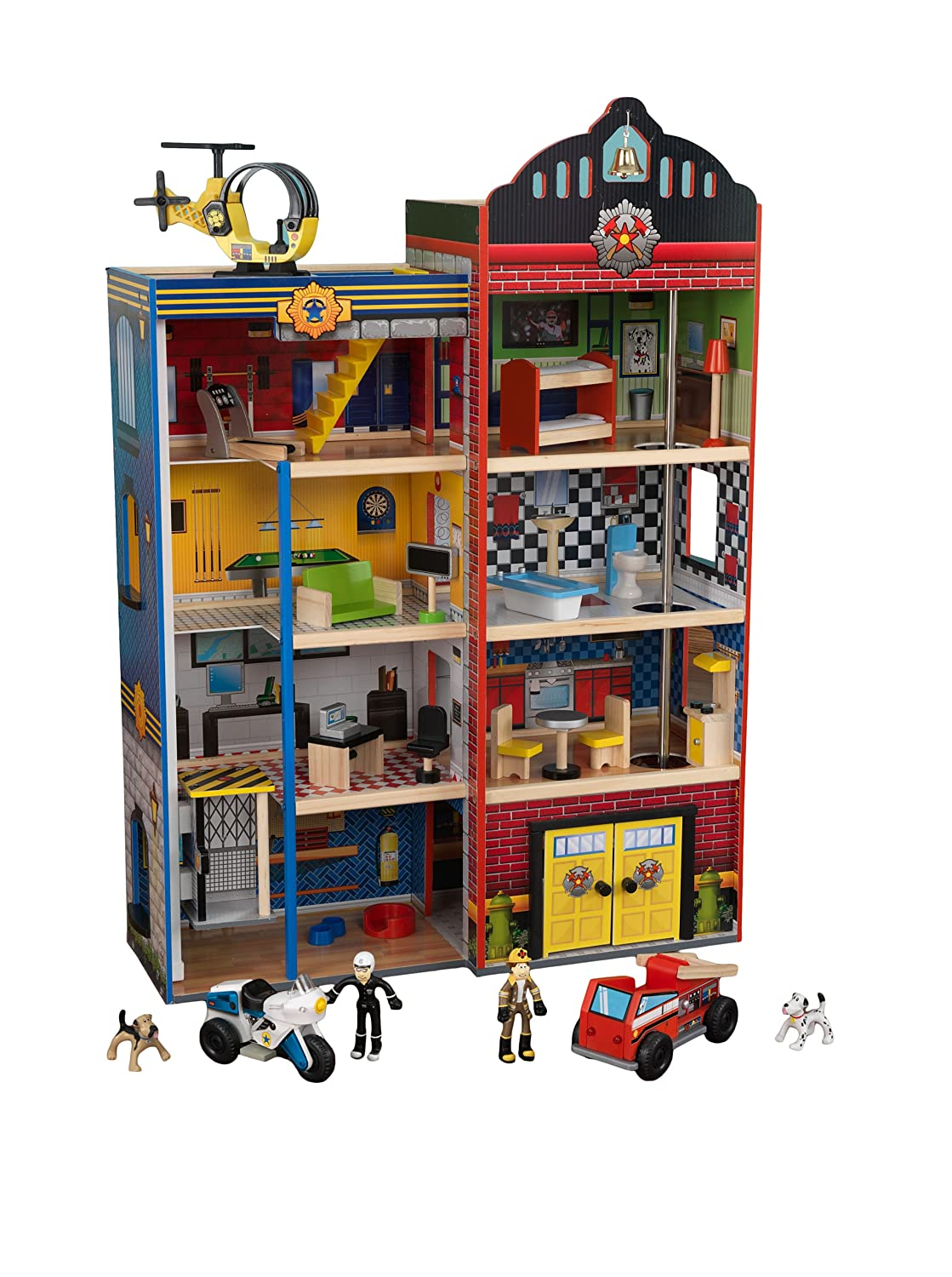 Toys For House : The best large wooden dolls houses with furniture for