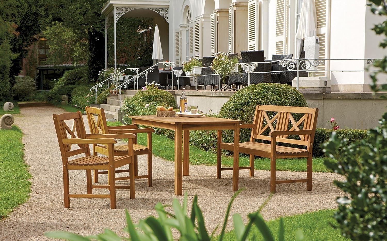 """Consul Garden Landhaus-Sessel """"Santa Lucia"""", Braun, 56x50x90 cm jetzt kaufen"""
