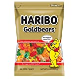 Haribo Gold-Bears, 8 oz. Bag (Pack of 10) (Color: Original Flavor, Tamaño: 8 oz.)