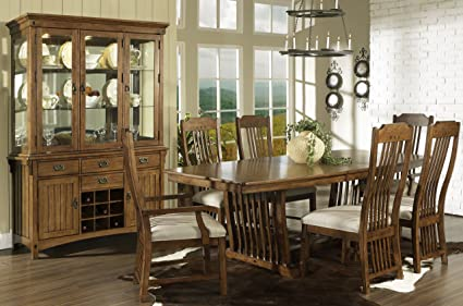 Somerton Dwelling Craftsman Trestle Dining Table